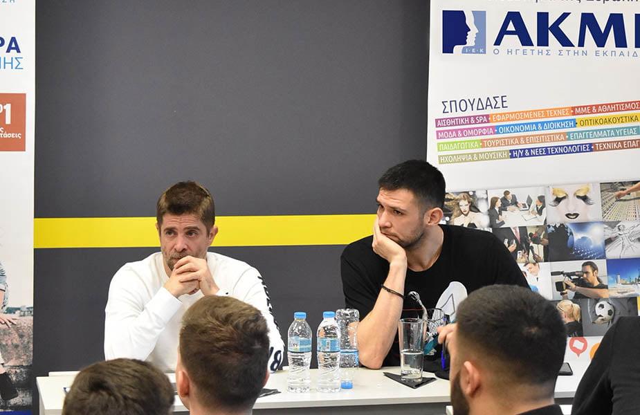 ΙΕΚ ΑΚΜΗ: Σχολή Αθλητικής Δημοσιογραφίας-Παντελής Διαμαντόπουλος