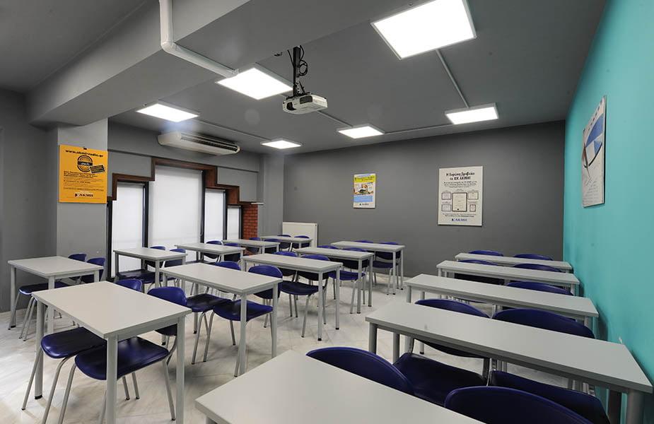ΙΕΚ ΑΚΜΗ: Εργαστήριο Σχολής Στελέχους Ασφαλείας Προσώπων-Security