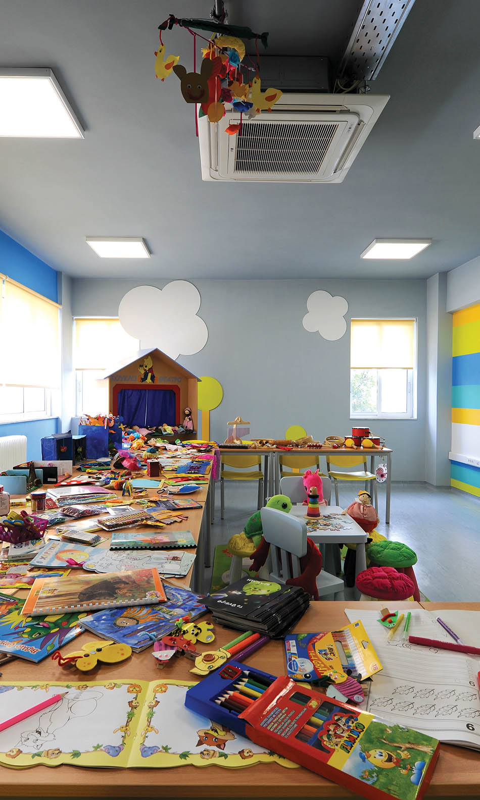ΙΕΚ ΑΚΜΗ: Εργαστήριο Σχολής Βοηθός Βρεφονηπιοκόμου