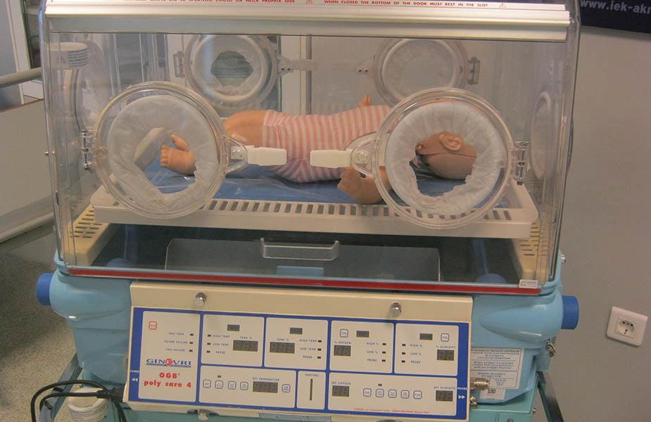 ΙΕΚ ΑΚΜΗ: Εργαστήριο Σχολής Μαιευτικής