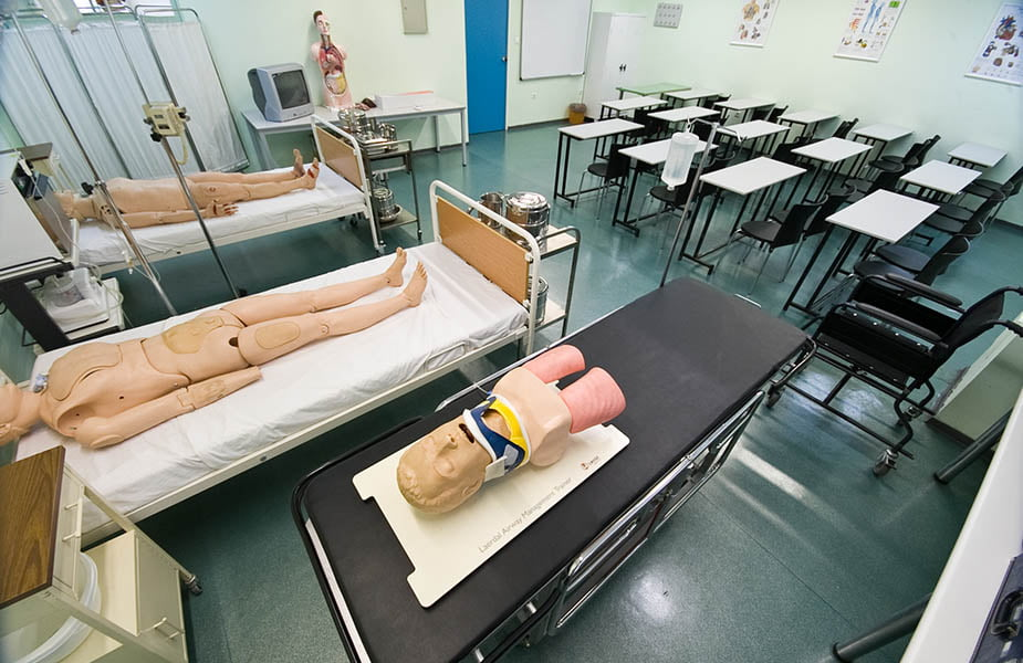 ΙΕΚ ΑΚΜΗ: Εργαστήριο Σχολής Νοσηλευτικής