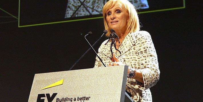 H Διευθύνουσα Σύμβουλος του Εκπαιδευτικού Ομίλου Μητροπολιτικό – ΑΚΜΗ κα Καλλιόπη Ροδοπούλου βραβεύεται ως Δυναμικά Αναπτυσσομένη Επιχειρηματίας της Χρονιάς