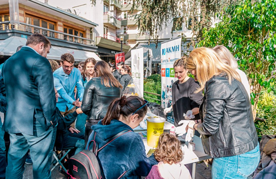 Μετρήσεις για διαβήτη και γλυκά χωρίς… ενοχές από το ΙΕΚ ΑΚΜΗ στη Λάρισα