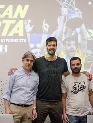 Ο κυπελλούχος Ευρώπης με την ΑΕΚ, Ντούσαν Σάκοτα, στο Αμφιθέατρο του ΙΕΚ ΑΚΜΗ