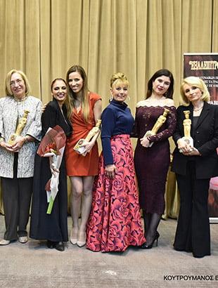Τιμητική διάκριση στη Διευθύνουσα Σύμβουλο του Εκπαιδευτικού Ομίλου «ΑΚΜΗ» στα Βραβεία Γυναικών «ΕΞΑΛΕΙΠΤΡΟΝ» 2018