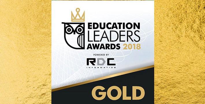 ΙΕΚ ΑΚΜΗ: Χρυσό Βραβείο στο Education Awards 2018