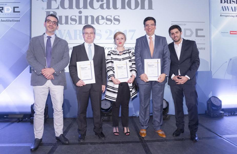 «EDUCATION BUSINESS AWARDS 2017»