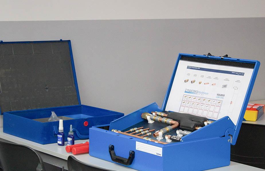 ΙΕΚ ΑΚΜΗ: Εργαστήριο Σχολής Θερμοϋδραυλικών