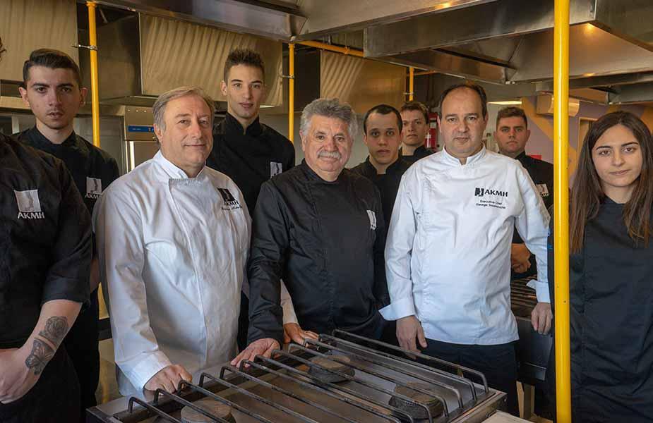 ΙΕΚ ΑΚΜΗ: Σχολή Μαγειρικής Ρόδου-Γιώργος Τρουμούχης